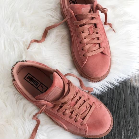 Shoes Sneakers Puma Platform Poshmark Velvet aqW1TOBwZ